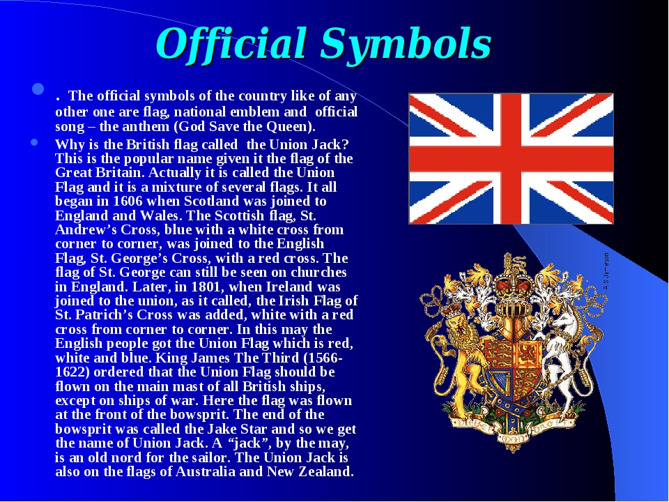 Official Symbols . The official symbols of the country like of any other one...