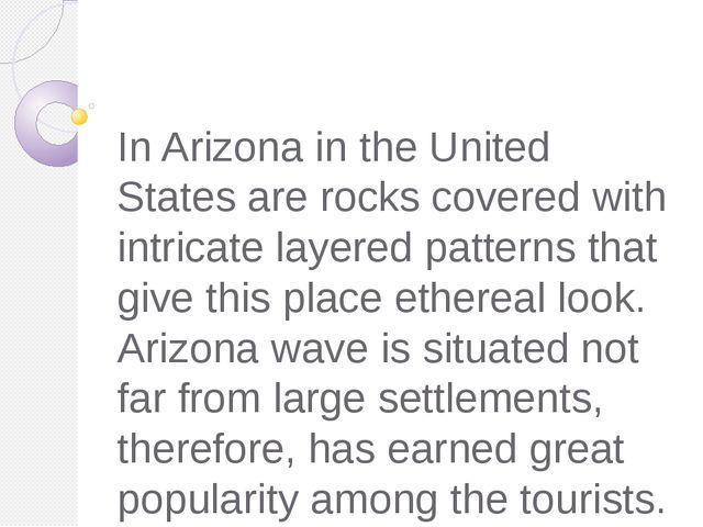 In Arizona in the United States are rocks covered with intricate layered patt...