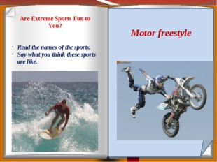 Are Extreme Sports Fun to You? Diving Rafting Skydiving Skateboarding Mountai