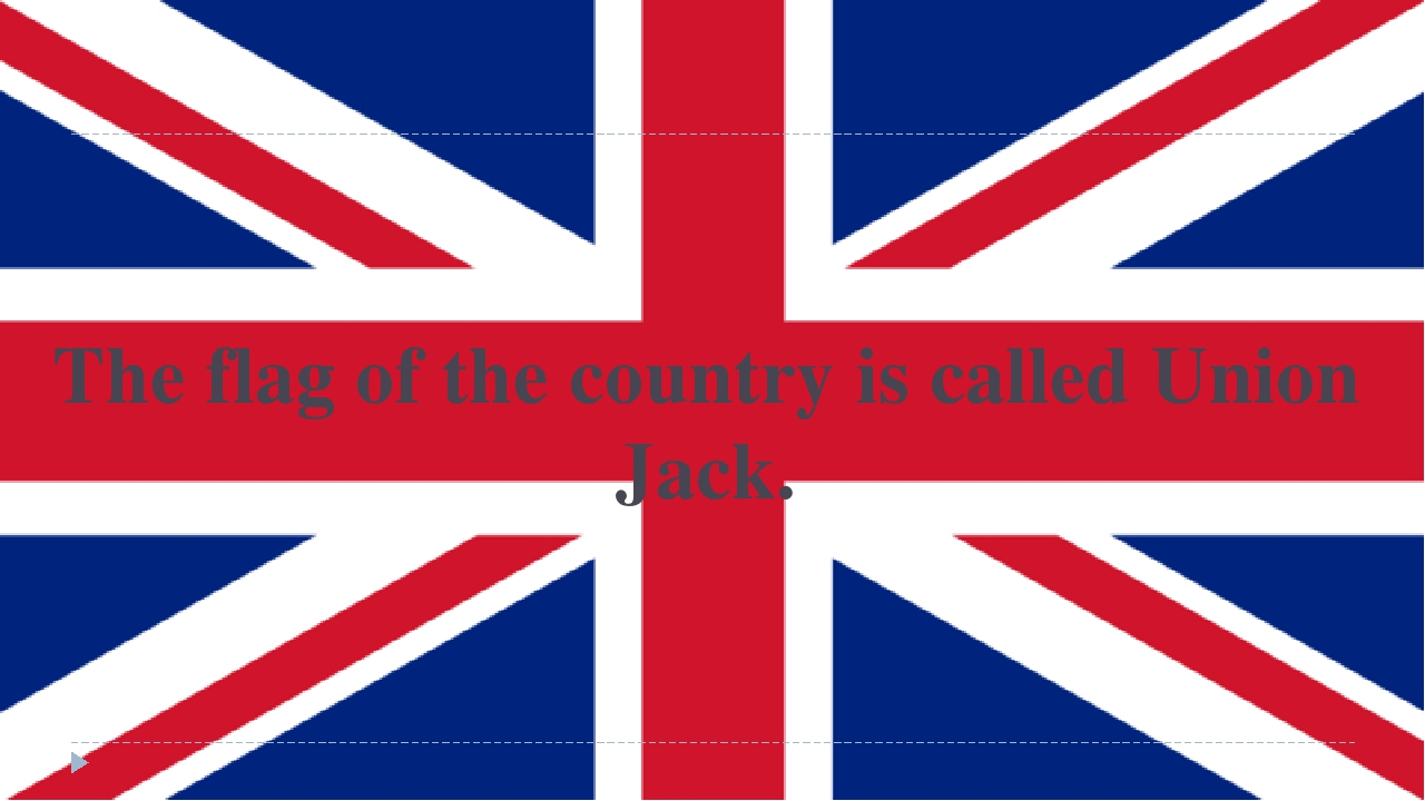 The flag of the country is called Union Jack.