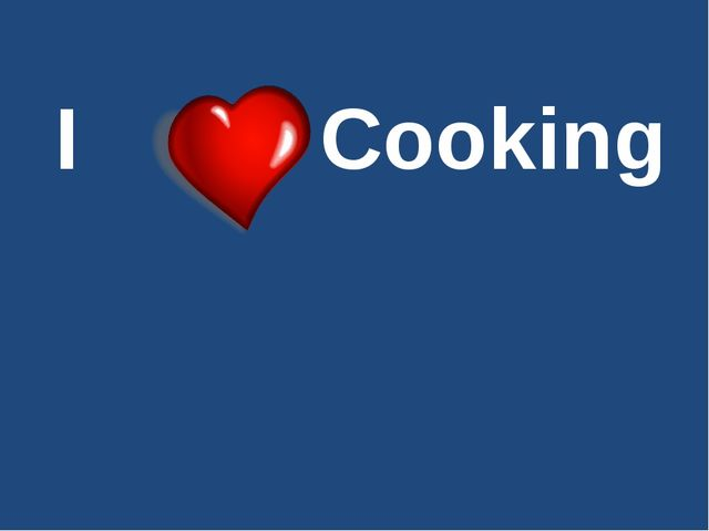 I Cooking