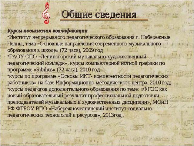 Курсы повышения квалификации Институт непрерывного педагогического образован...