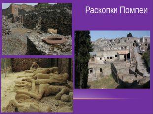 Раскопки Помпеи