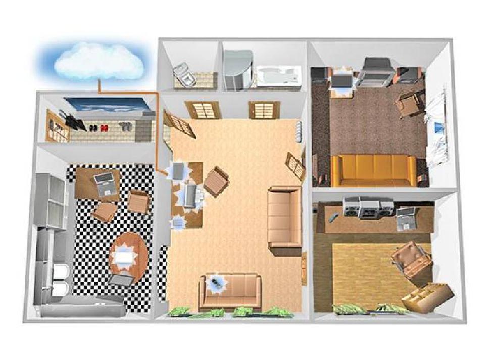 Схемы рисунки для квартир