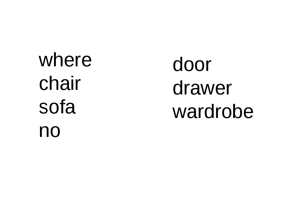 where chair sofa no door drawer wardrobe