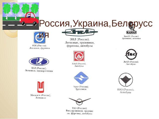 Россия,Украина,Белоруссия