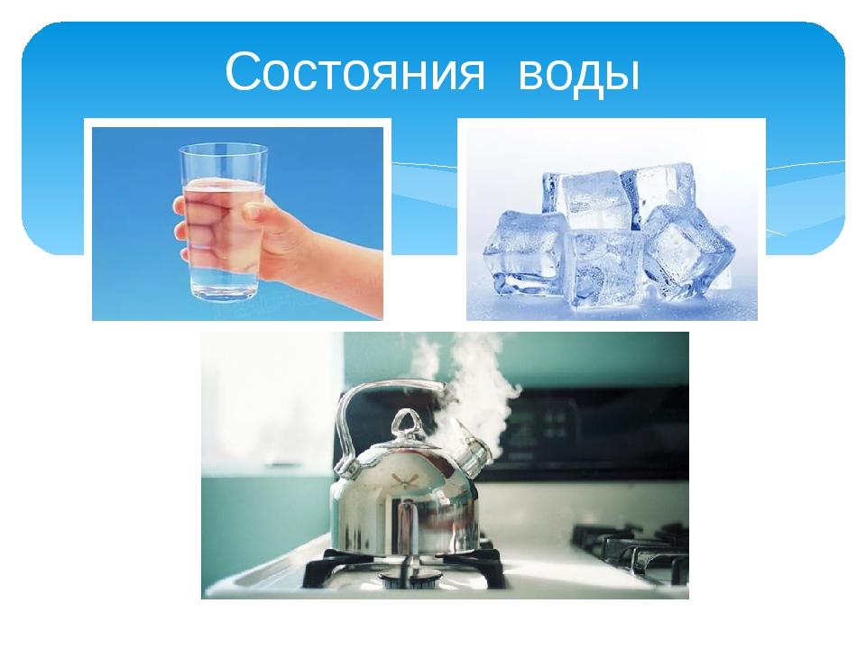 Состояния воды