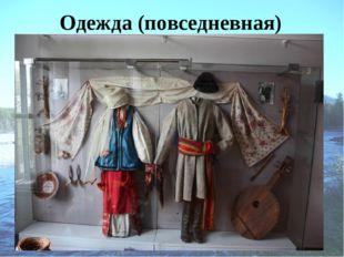 Одежда (повседневная)