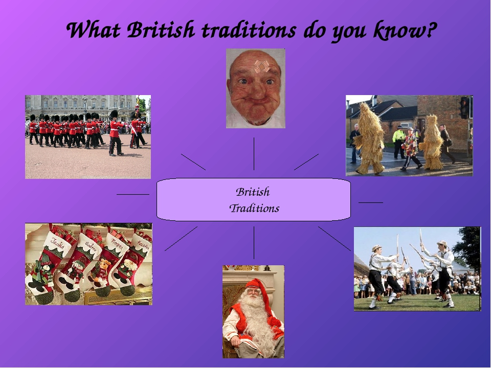 What British traditions do you know?