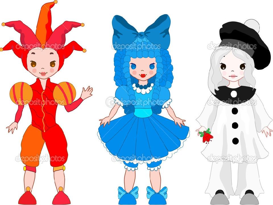 Рисунки для театра кукол