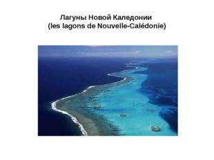 Лагуны Новой Каледонии (les lagons de Nouvelle-Calédonie)