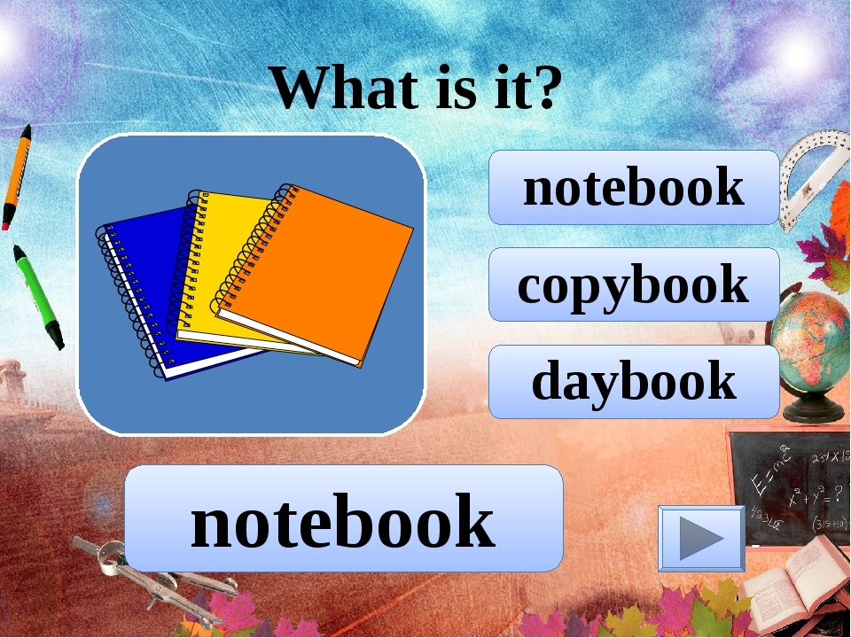 copybook notebook daybook What is it? notebook