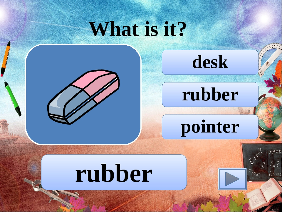 rubber desk pointer What is it? rubber