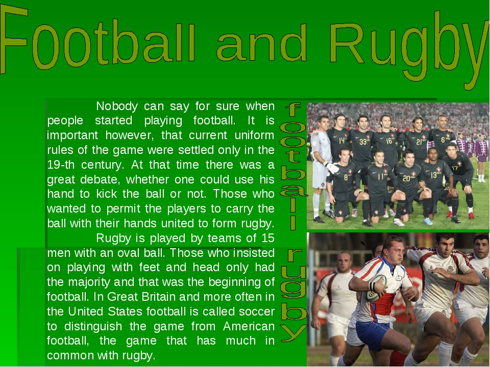 reflective essay on football soccer