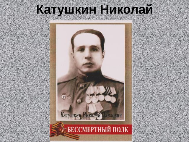 Катушкин Николай Павлович