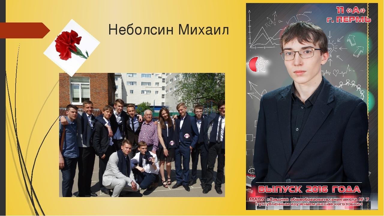 Неболсин Михаил