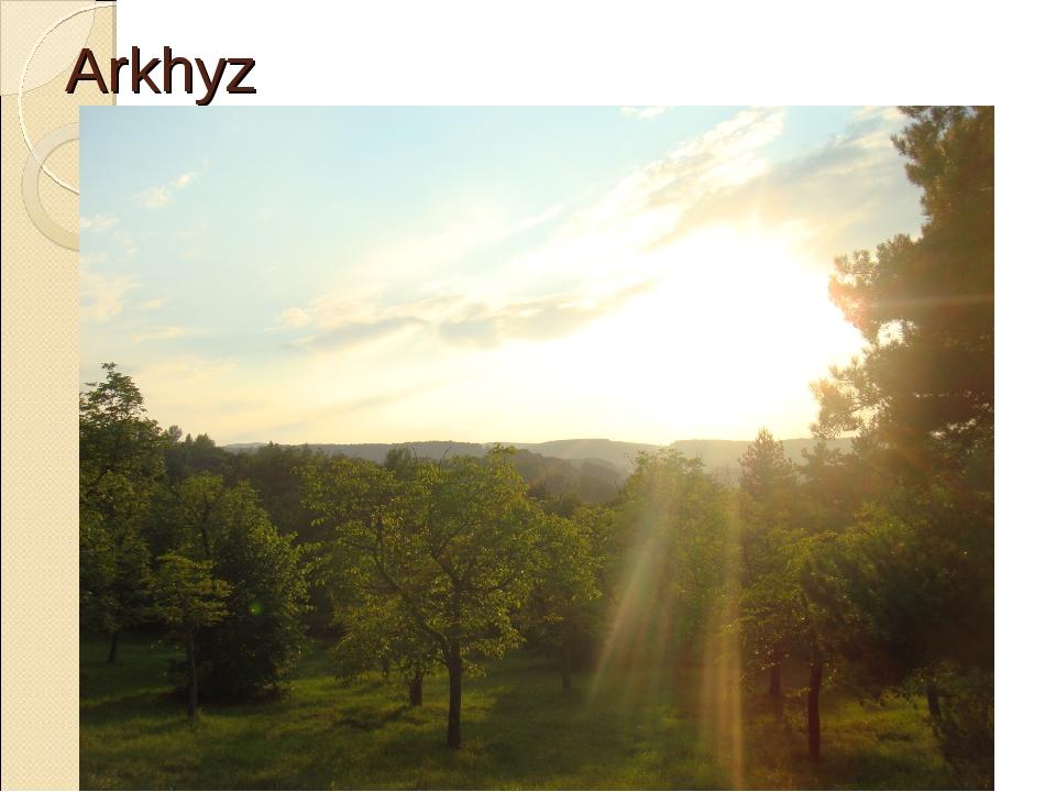Arkhyz