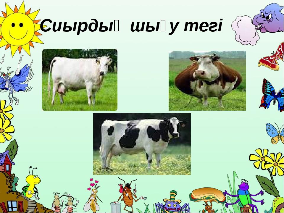 Сиырдың шығу тегі ProPowerPoint.Ru