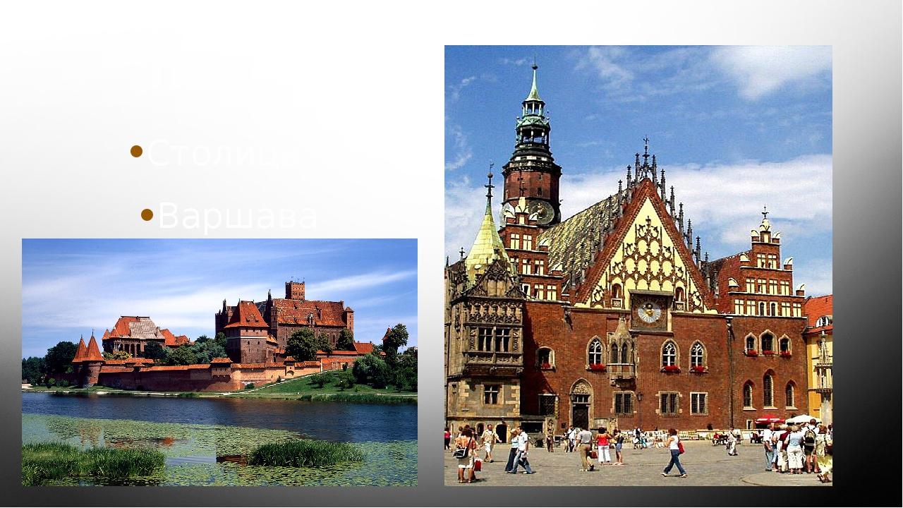 Польша Столица – Варшава