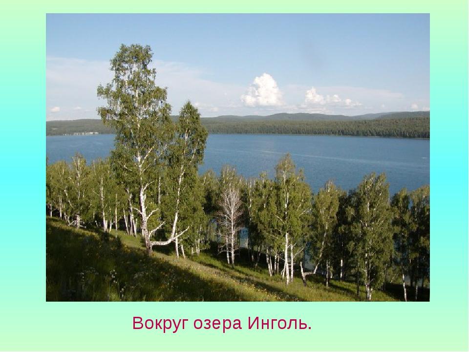 Вокруг озера Инголь.
