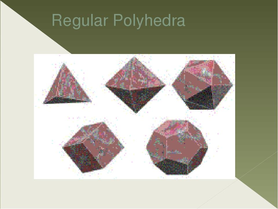 Regular Polyhedra