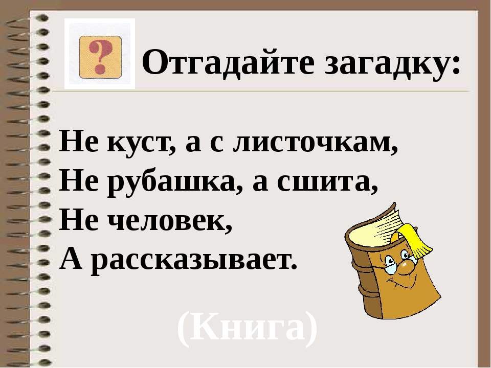 Загадки с ответами не куст а с листочками не рубашка а сшита не человек