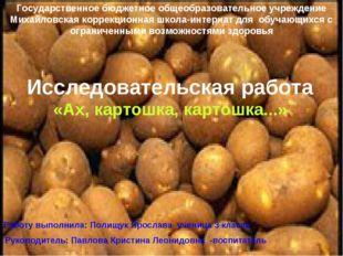 Государственное бюджетное общеобразовательное учреждение Михайловская коррекц
