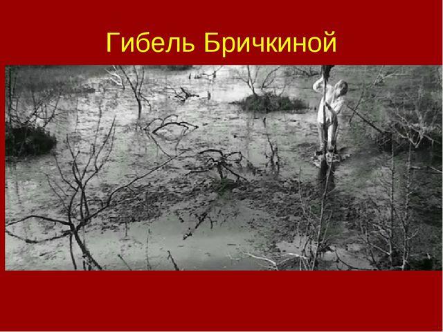 Гибель Бричкиной