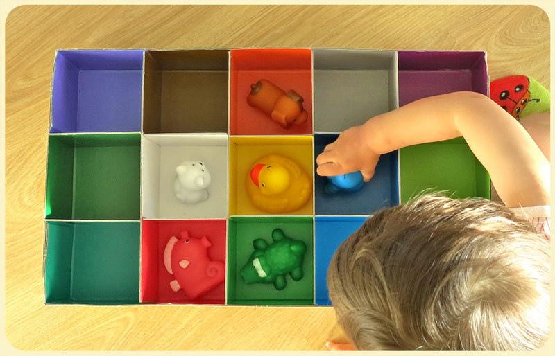 Игрушки для изучения цветов своими рукам