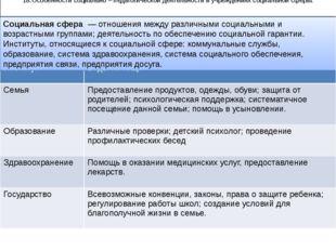 18.Особенности социально – педагогической деятельности в учреждениях социальн
