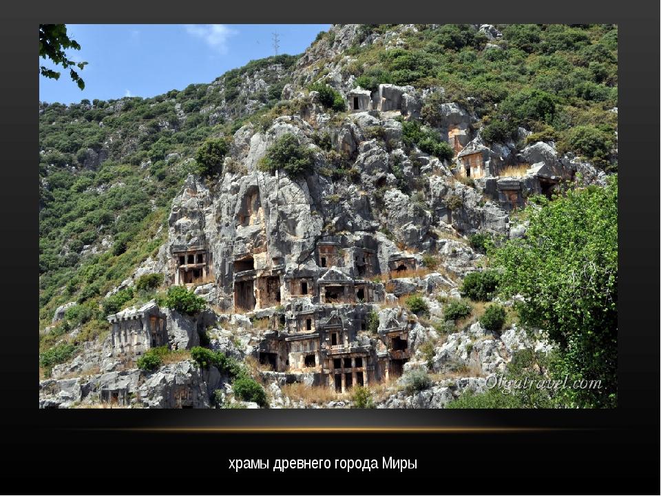 храмы древнего города Миры