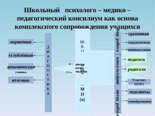 Школьный психолого – медико – педагогический консилиум как основа комплексног