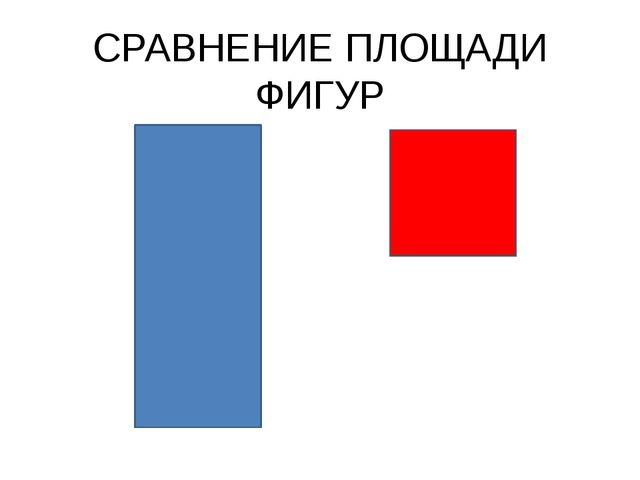 СРАВНЕНИЕ ПЛОЩАДИ ФИГУР