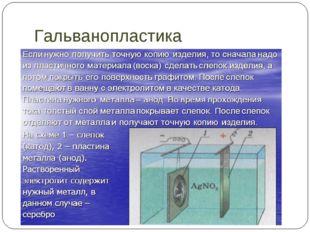 Гальванопластика