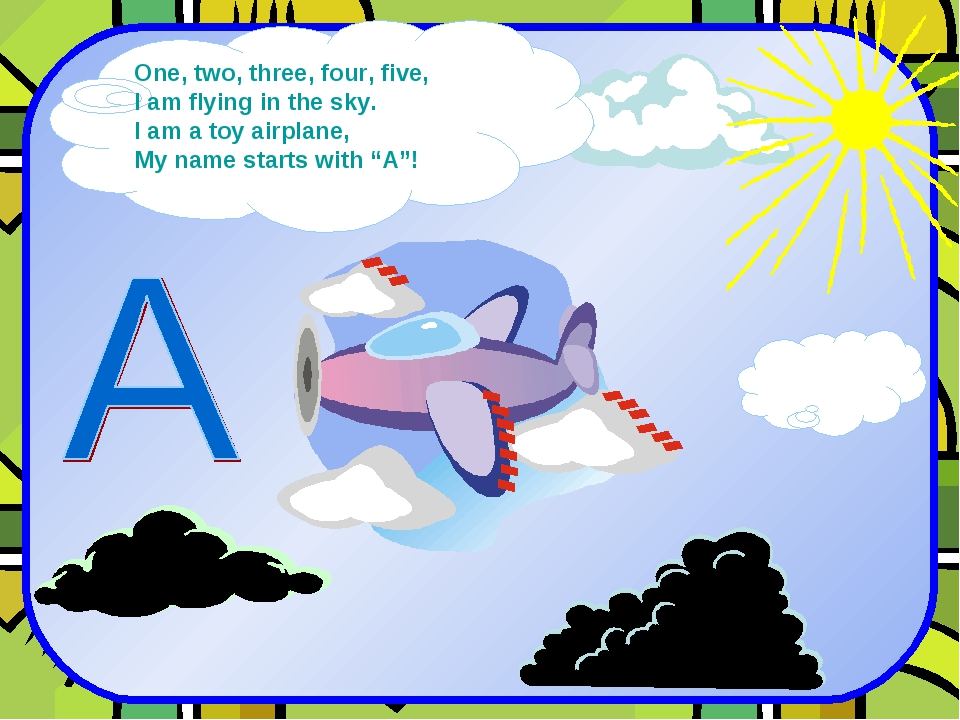 One, two, three, four, five, I am flying in the sky. I am a toy airplane, My...
