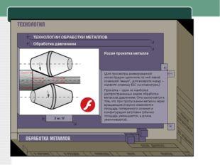 Видеофрагменты работы технологического оборудования: