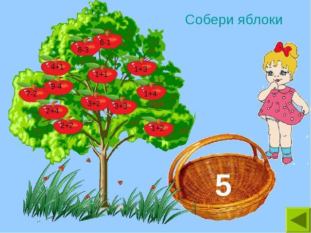 Собери яблоки