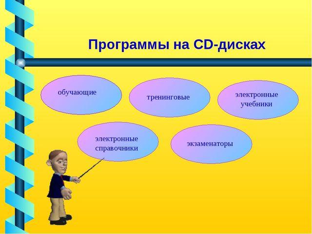 Программы на CD-дисках обучающие тренинговые электронные учебники электронные...