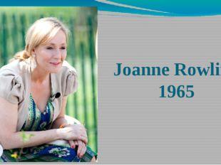 JoanneRowling 1965