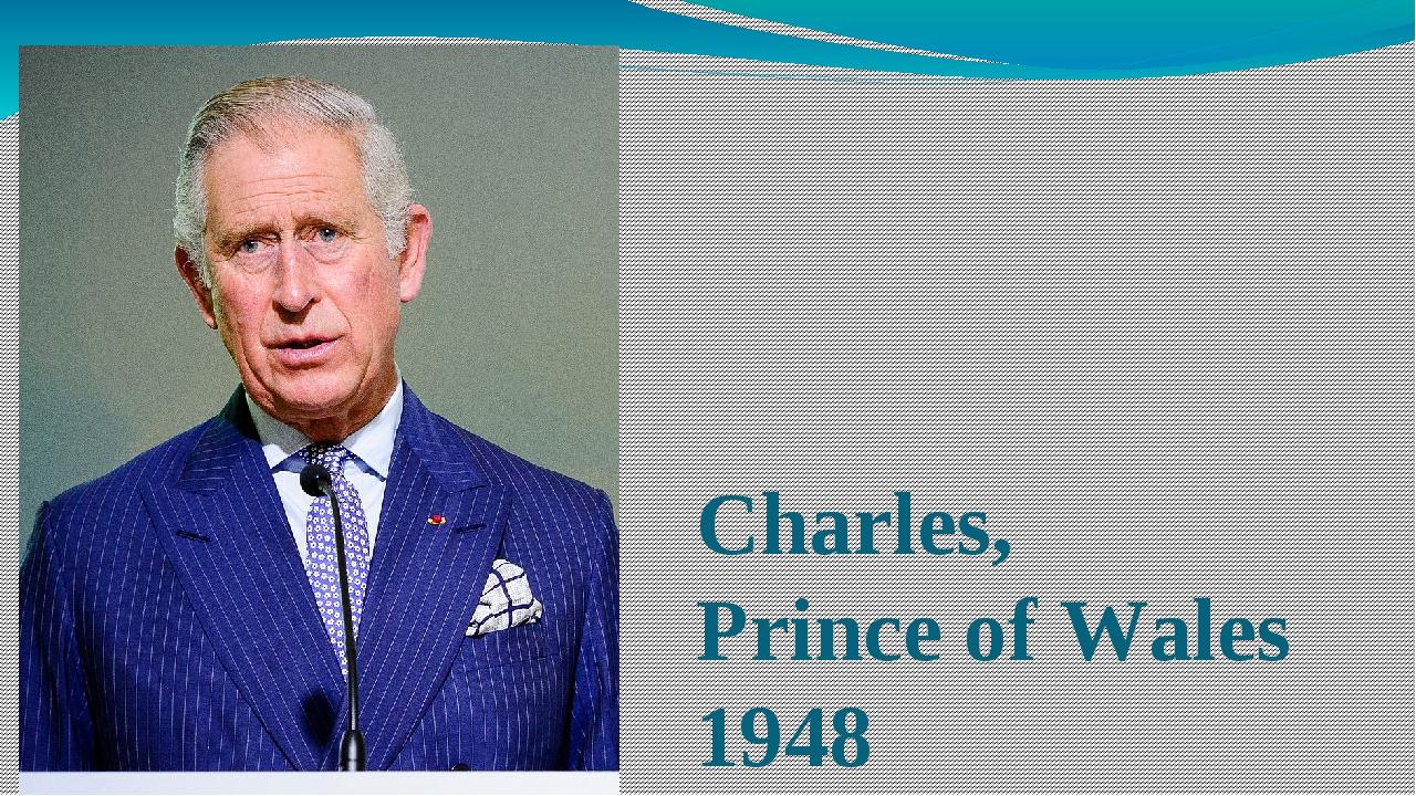 Charles, Prince of Wales 1948