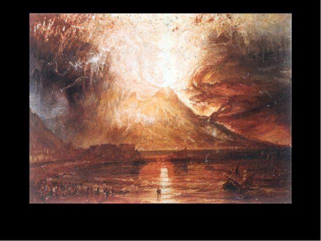 Ausbruch des Vesuvs