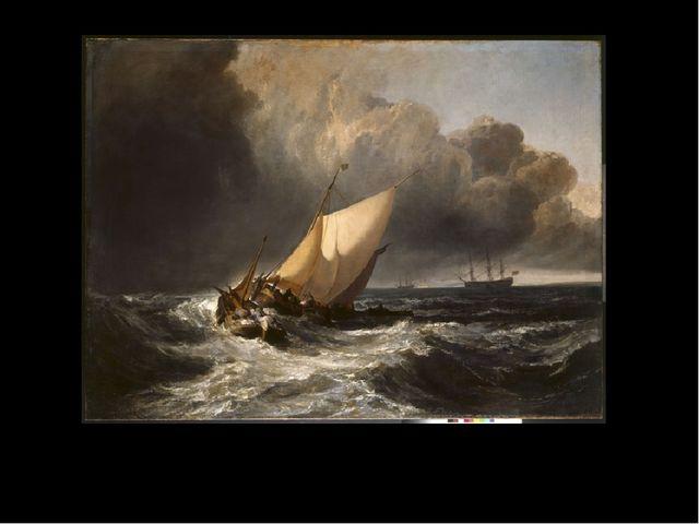 Dutch Boats in a Gale ('The Bridgewater Sea Piece')