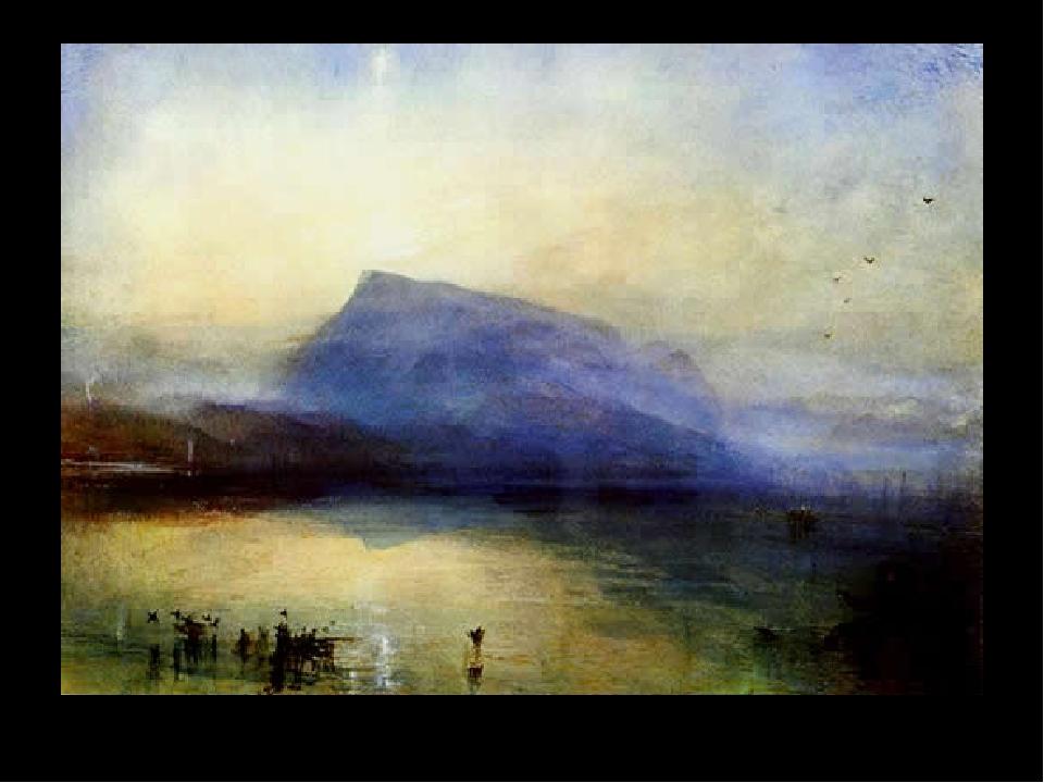 The Blue Rigi, Sunrise