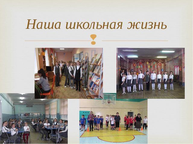 Наша школьная жизнь