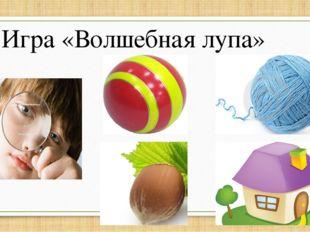 Игра «Волшебная лупа»