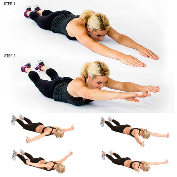 Как похудеть в руках и спине