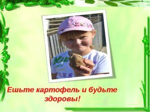 Ешьте картофель и будьте здоровы!