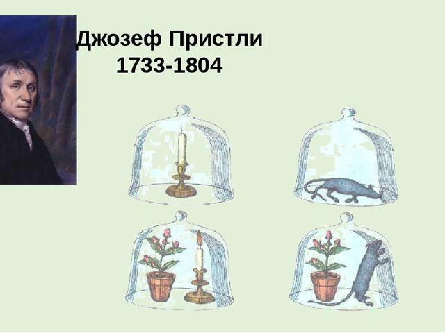 Джозеф Пристли 1733-1804