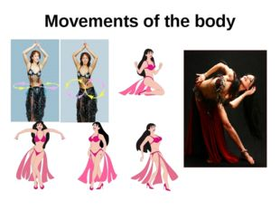 Movements of the body