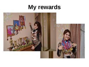 My rewards